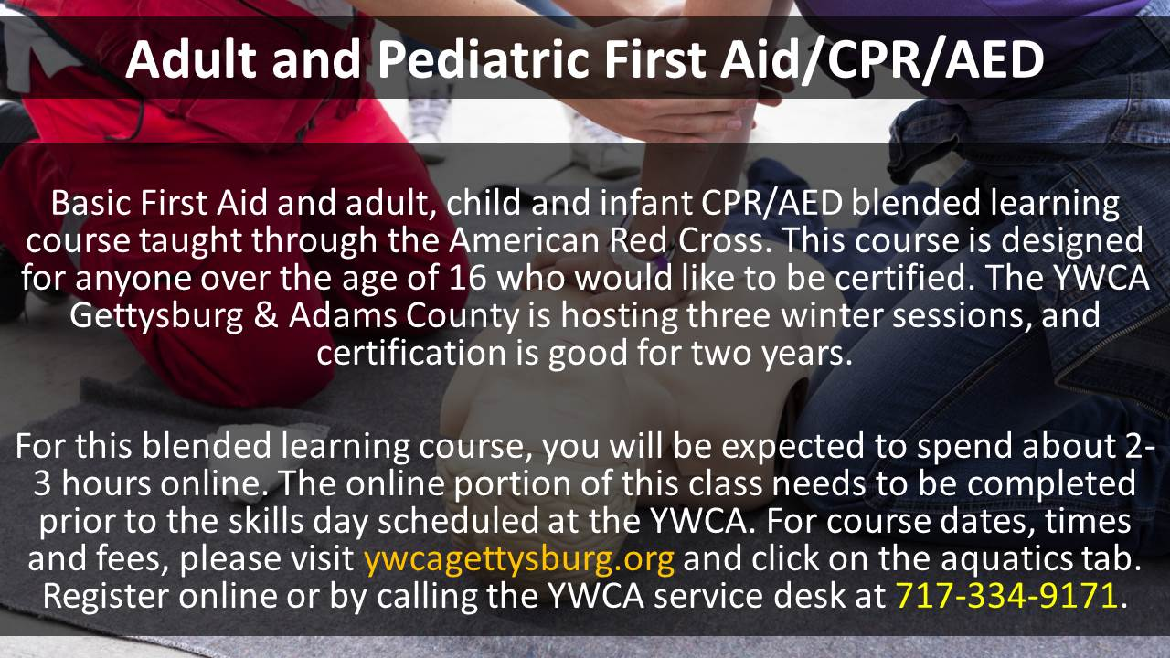 Adult and pediatric first aidcpraed community media this is a basic first aid and adult child and infant cpraed blended learning course taught through the american red cross this course is designed for 1betcityfo Gallery